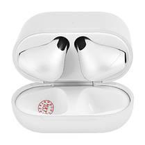 Бездротові bluetooth-навушники AirPods Pro 4 mini original з кейсом White, фото 3