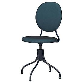 IKEA BJÖRKBERGET  Вращающееся кресло, Idekulla blue (604.817.94)