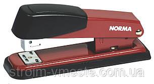 Степлер канцелярский металлический NОRМА 4123 №24/6 60 мм 20 л красный