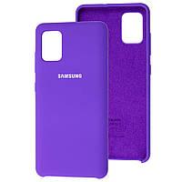 Чехол Silicone Case для Samsung Galaxy A51 Violet