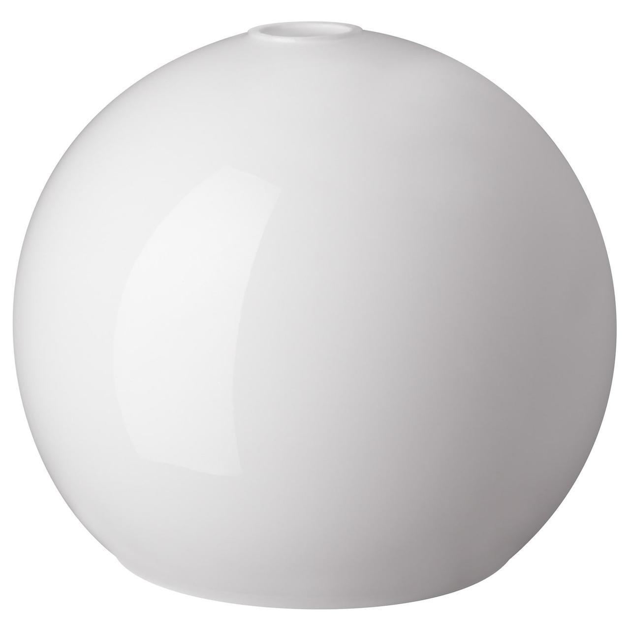 IKEA JAKOBSBYN  Абажур для подвесного светильника, белый (703.330.48)
