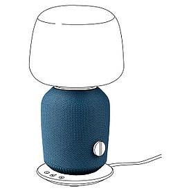IKEA SYMFONISK Кришка настільної лампи з яскраво-синім (504.857.35)