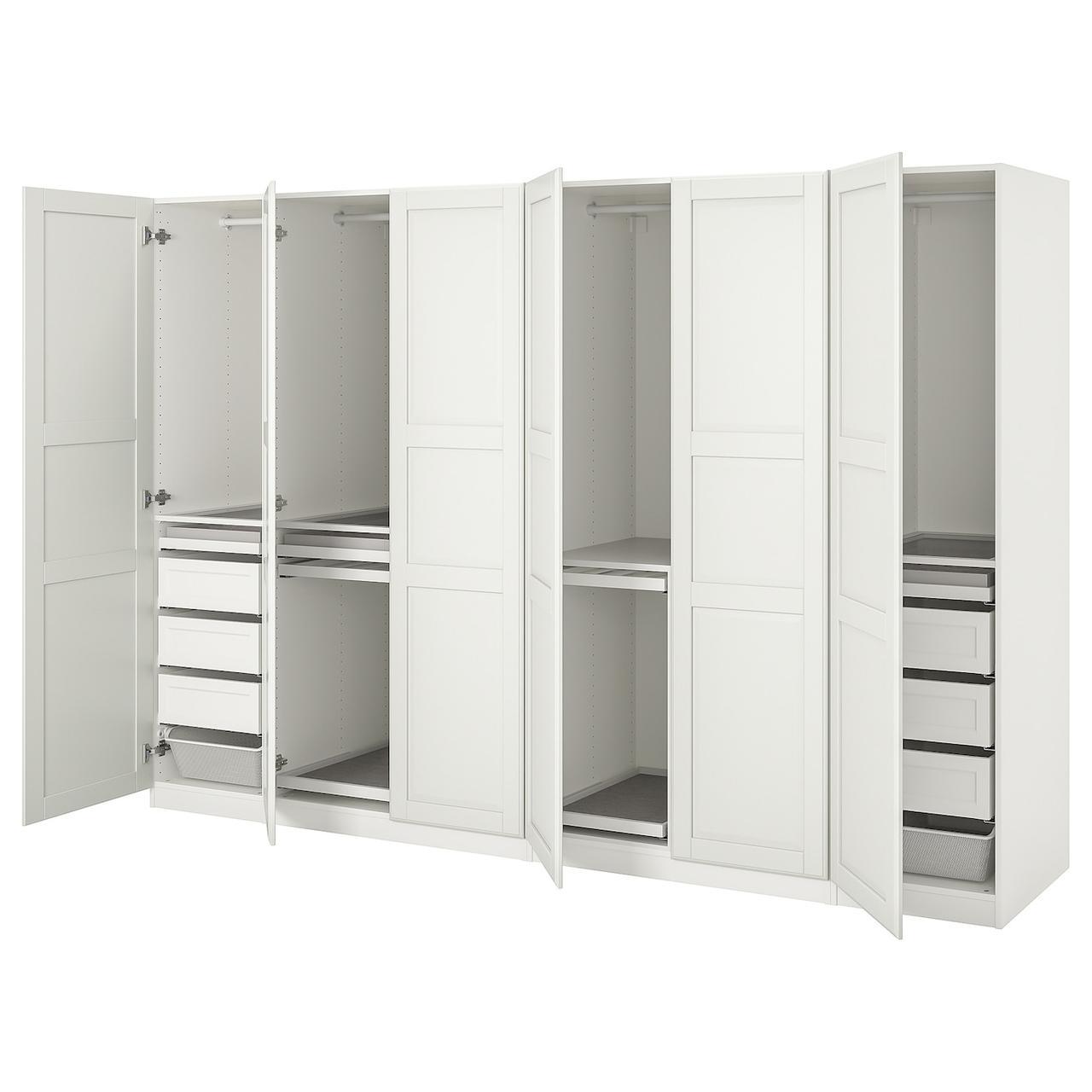 IKEA PAX / TYSSEDAL  Гардеробная комбинация белый / белый (493.250.50)