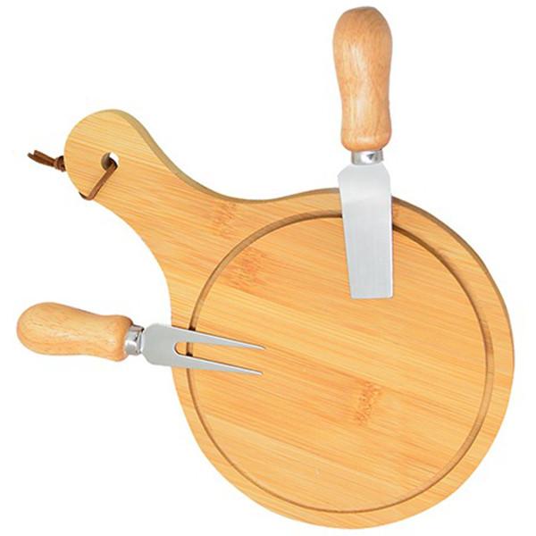 Набор ножей для сыра и разделочная доска Chouse Board Set 3 предмета