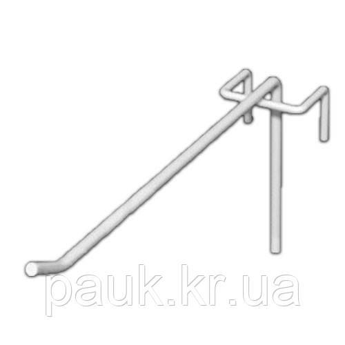 Крючок торговый на сетку 150 мм, крючок для сетчатого стеллажа ГС 150