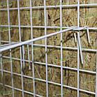 Крючок торговый на сетку 150 мм, крючок для сетчатого стеллажа ГС 150, фото 3