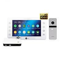 Комплект відеодомофона NeoLight Kappa HD WiFi Silver Box