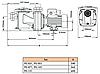 Насос Мікрон Optima 100M, 230B, 15.3m3/h, 0.75 кВт., 50мм, фото 2