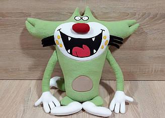 Мягкая игрушка кот Джек из мультфильма Огги и кукарачи