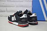 Чоловічі кросівки натуральний замш і текстиль в стилі Adidas ZX700, фото 2