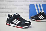Чоловічі кросівки натуральний замш і текстиль в стилі Adidas ZX700, фото 5