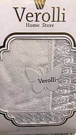 Скатерть Тканевая Однотонная На Обеденный Стол Прямоугольная Полиэстер Размер 160*300 см Турция Verolli