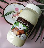 Рафинированное кокосовое масло в банке для волос/тела/загара Organic, 500 мл