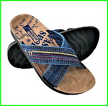 Шльопанці чоловічі Джинсові Тапочки Сланці (розміри: 41,42)