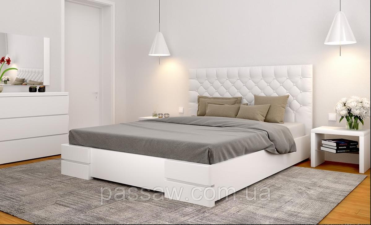 """Ліжко дерев'яна ARBOR DREV """"Регіна"""" 1,6 сосна"""