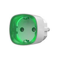 Радиоуправляемая умная розетка со счетчиком энергопотребления Ajax Socket белая