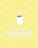 """Набор вафельных полотенец """"Good Morning"""" Monday, фото 2"""