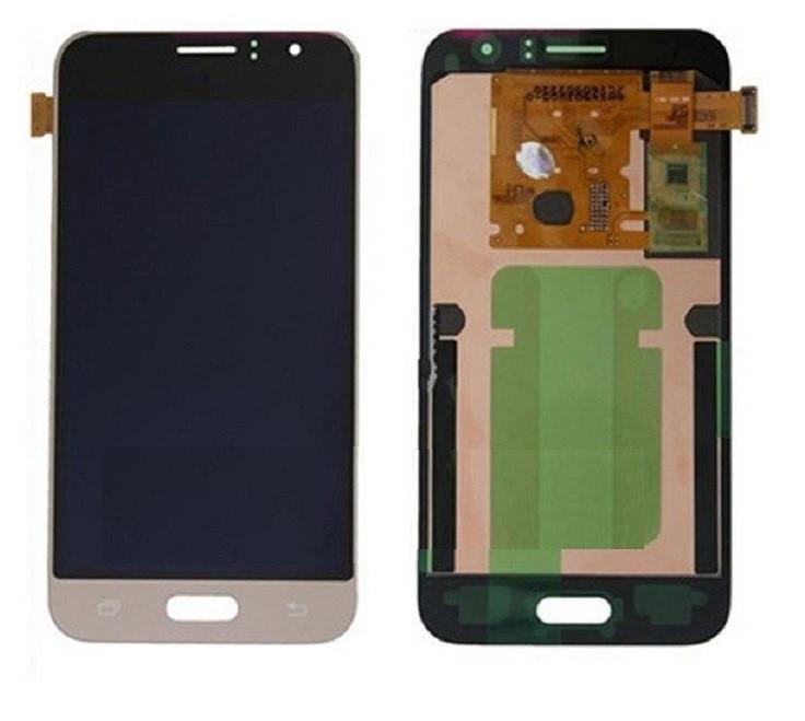 Дисплей для Samsung J120H Galaxy J1 (2016) (GH97-18224B) с сенсорным стеклом (Золотой) Сервисный оригинал
