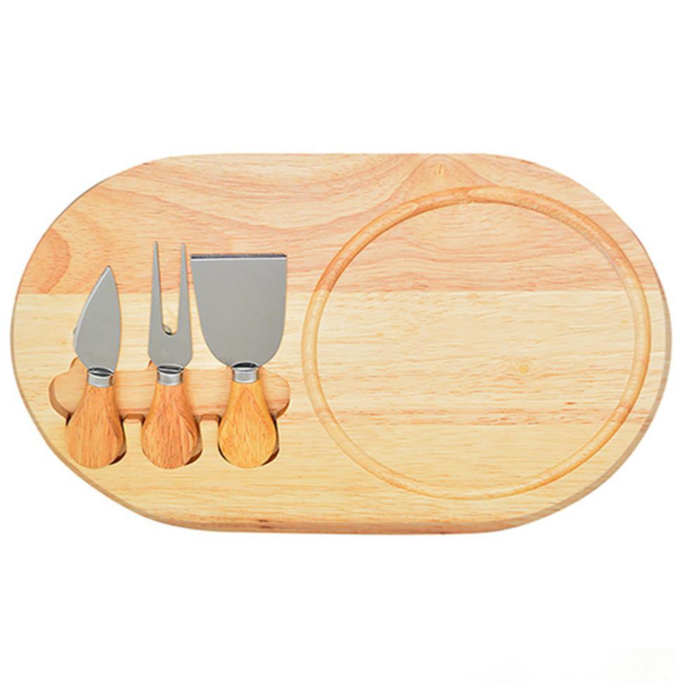 Набор ножей для сыра и разделочная доска Funtree 4 предмета