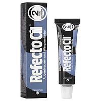 Фарба RefectoCil для брів і вій №2 - Чорно-синій
