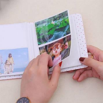 Фотоальбом для камеры FujiFilm INSTAX, синий