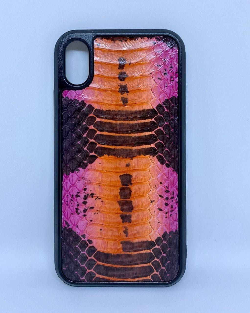 Чехол CaZe для iPhone Xr кожа Кобры премиум
