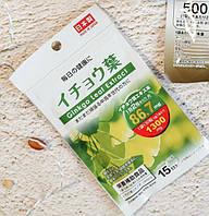 Гинкго билоба Япония антиоксидант, для сосудов, при сахарном диабете (40 таблеток х 20 дней)
