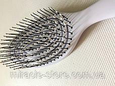 Массажная щётка для волос SALON PROFESSIONAL большая расческа, фото 2