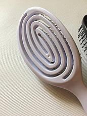 Массажная щётка для волос SALON PROFESSIONAL большая расческа, фото 3