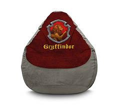 """Кресло мешок """"Harry Potter. Gryffindor"""" Флок"""