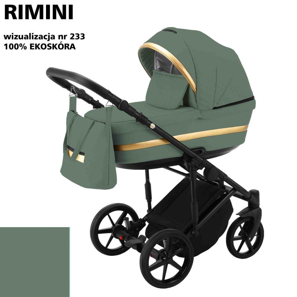Коляска Adamex Rimini ECO кожа RI-233