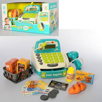 Касовий апарат на бат-ці,мікроф.,калькул.,сканер,продукти,у кор-ці,34х18х18см №M4391IUA(12)