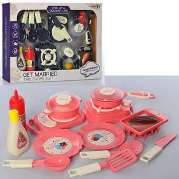 Посуд: кастрюля,сковорідка,кухонне приладдя,продукти,в кор-ці,40х29х5,5см №HS333B-C(27)