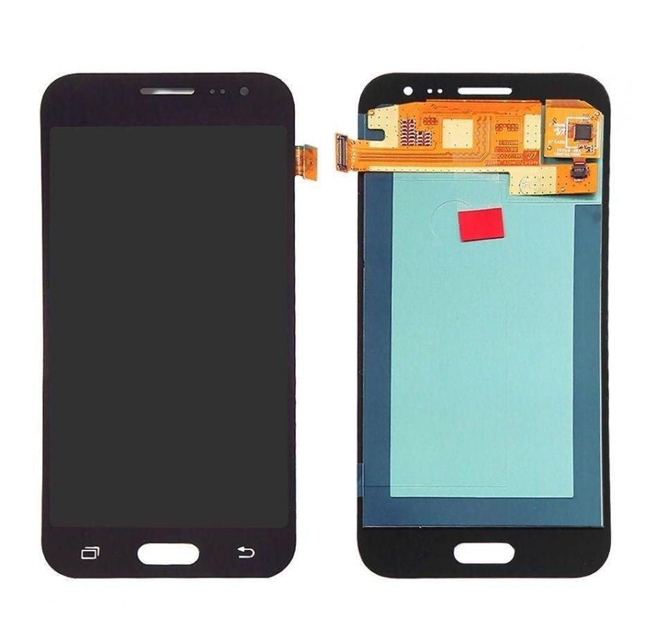 Дисплей для Samsung J200F Galaxy J2 | J200G | J200H | J200Y GH97-17940C с сенсором (Черный) Сервисный оригинал