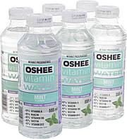 Упаковка безалкогольного напою oshee вітамін h2o м'ята 0,555 л * 6 пляшок #S/H