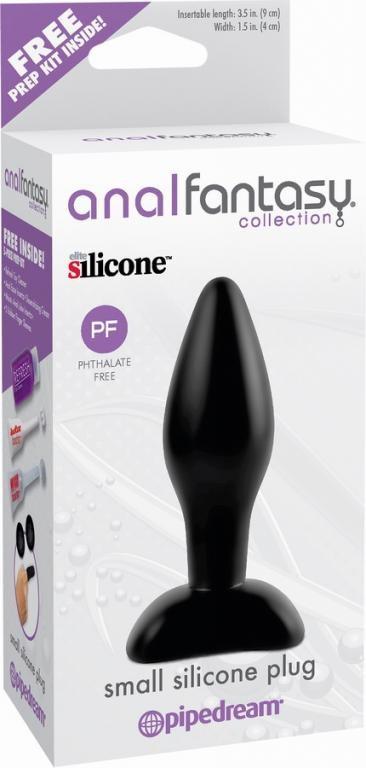 Анальная пробка Anal Fantasy Collection Small Silicone Plug