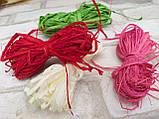 Рафия цветная в намотке,  разные цвета 15 гр 10 грн, фото 2