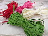 Рафия цветная в намотке,  разные цвета 15 гр 10 грн, фото 3