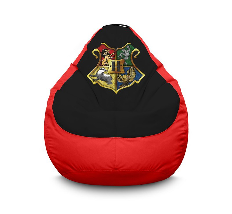 """Кресло мешок """"Harry Potter. Hogwarts School"""" Оксфорд"""