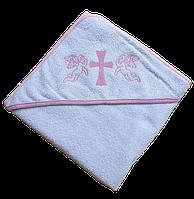 Полотенце для крещения с уголком 92*92 380г/м2 (TM Zeron), Турция 1349310264