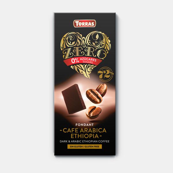 Шоколад Torras з кавовими зернами (100г)