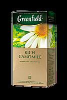 /Чай травяной 15г*25 пакет Rich Camomile GREENFIELD