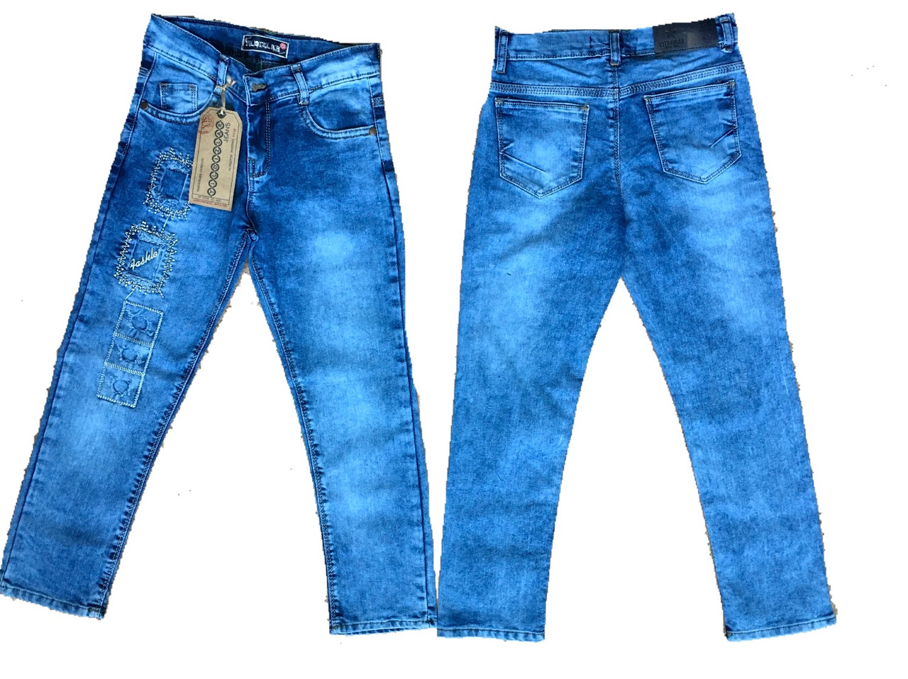 Стильне джинсы для девочек, 98см