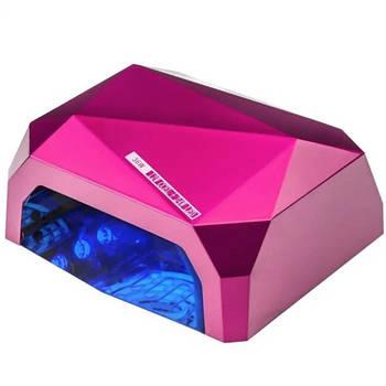 Лампа для нігтів Diamond Quick Ccfl 36W Рожева