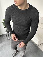 Свитер классический мужской черного цвета. Мужской классический лёгкий свитер черный.
