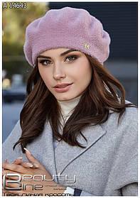 Гарний жіночий кашеміровий кепі