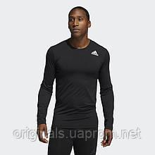 Компрессионная футболка Adidas Techfit Compression Long Sleeve Tee GM5038 2021