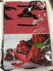 Подарунковий паперовий пакет ЧАШКА 16*16*8 см Подарунок