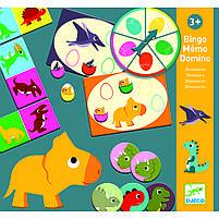 Набір настільних ігор Динозаври Djeco (DJ08132), фото 2