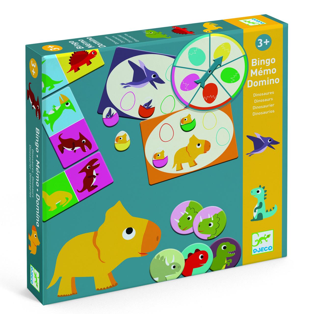 Набір настільних ігор Динозаври Djeco (DJ08132)